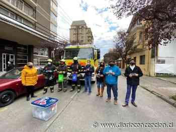 Trabajadores ProEmpleo donaron 300 mascarillas lavables a Bomberos de Concepción - Diario Concepción