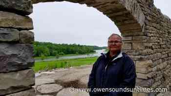 Saugeen members rebuilding stone amphitheatre - Owen Sound Sun Times