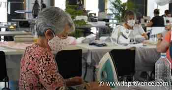 Coronavirus - Marignane : distribution de 26 000 masques confectionnés par des couturières - La Provence