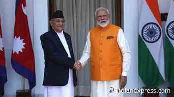 K P Oli to move amendment Bill on new map - The Indian Express