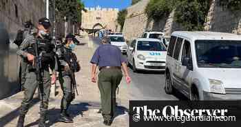 Israeli police shoot dead 'unarmed' Palestinian man in Jerusalem - The Guardian