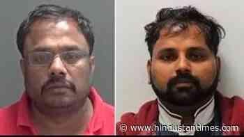 Two Indian-origin men jailed for £2.4 million money laundering - Hindustan Times