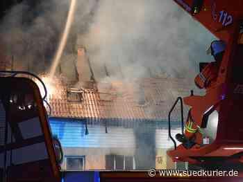 Nach dem schlimmen Wohnhausbrand: Freunde und Nachbarn starten Hilfsaktion ... | SÜDKURIER Online - SÜDKURIER Online