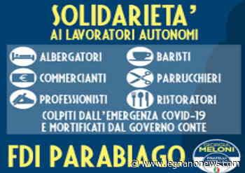 """Fratelli d'Italia Parabiago ha presentato il """"Pacchetto COVID-19"""" - LegnanoNews - LegnanoNews"""