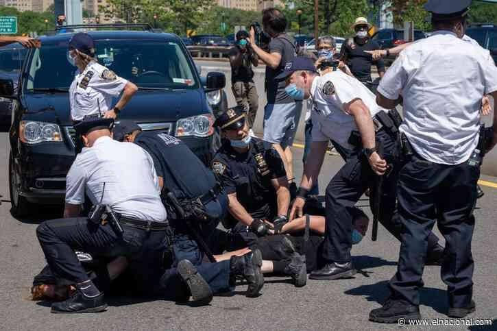 Al menos 500 detenidos en Los Ángeles y 200 en Nueva York por los disturbios por la muerte de George Floyd