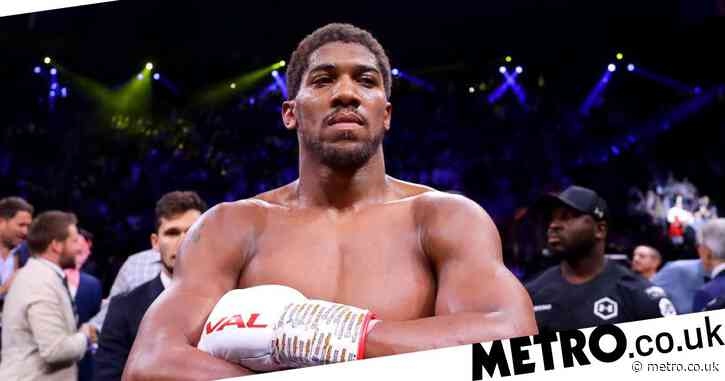 Anthony Joshua rules out Mike Tyson fight: 'People would boo'