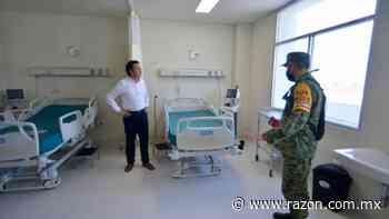 Cuitlahuac Garcia supervisa reestructura de Hospital en Coatzacoalcos para atender COVID-19 - La Razon