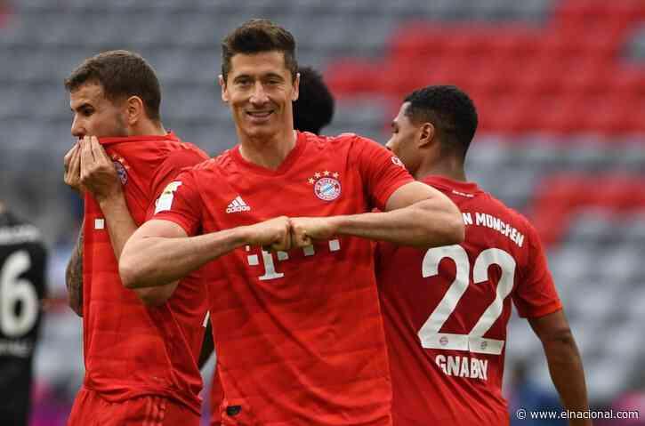 El Bayern de Múnich golea y marcha con paso firme hacia el título