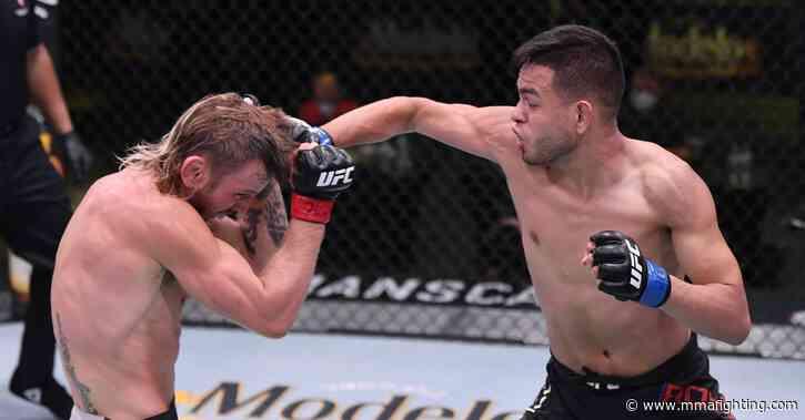 UFC on ESPN 9 video: Underdog Brandon Royval submits Tim Elliott, trashes performance