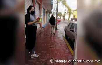 Sanitizan principales avenidas de Mixquiahuala ante Covid 19 - Quadratín Hidalgo