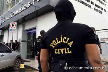 Policiais civis de Pontes e Lacerda localizam e prendem alvo da Operação Ordenha - O Documento