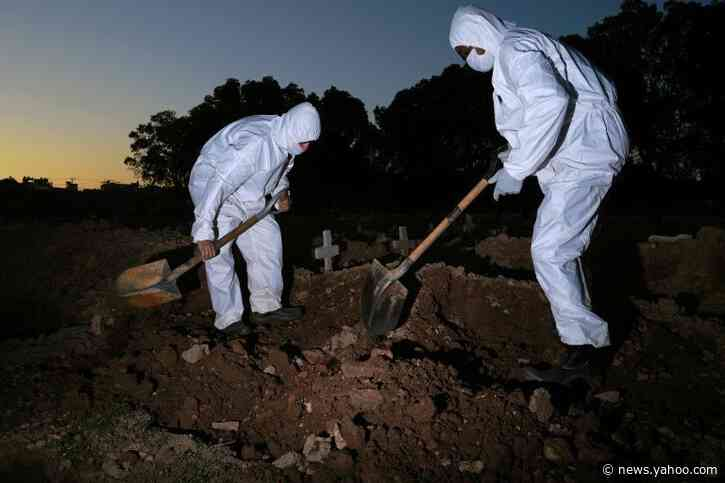 Brazil virus death toll hits 28,834, surpassing hard-hit France