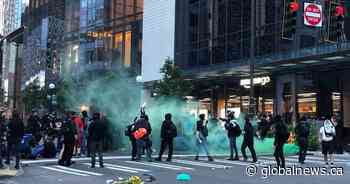 George Floyd: Raucous protests in Northwest lead to curfew for Seattle