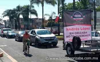 Más de un centenar participa en caravana anti AMLO, en Orizaba - El Sol de Orizaba