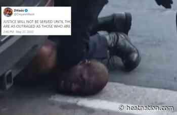 Dwyane Wade Pleads for Justice After Brutal Death of George Floyd - Heat Nation