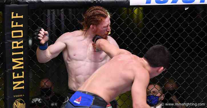 UFC on ESPN 9 results: Billy Quarantillo earns unanimous decision in crazy war with Spike Carlyle