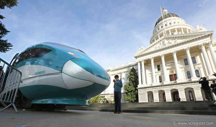 Dismal cap and trade auction is another reason to nix high-speed rail project