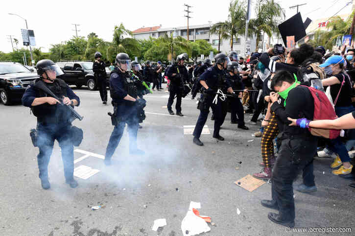 Curfew goes into effect throughout LA, Garcetti calls for National Guard amid unrest