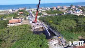 Vigas para a nova ponte da Rua 53 em Itaipuaçu começam a chegar - Lei Seca Maricá (LSM)