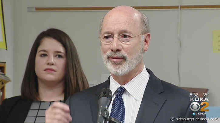 Gov. Tom Wolf Signs Disaster Emergency Declaration To Help Cities During Protests