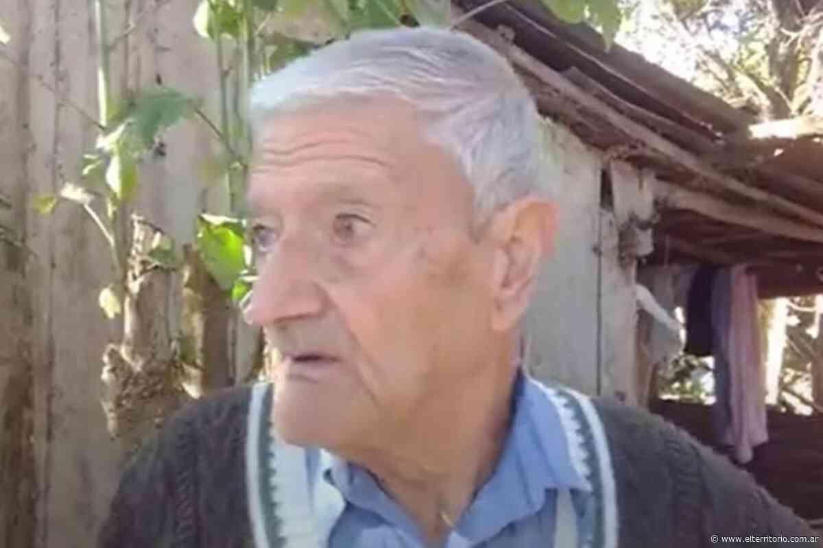 Santo Tomé: piden asistencia para un anciano que vive sin luz ni agua - EL TERRITORIO