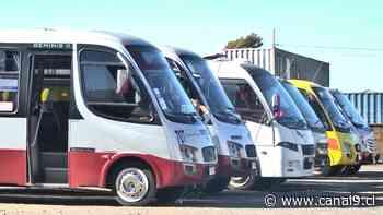 Compleja situación económica de líneas de buses en Tomé - Canal 9 Bío Bío Televisión