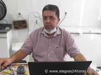 Prefeito de Joaquim Gomes recebe alta após 10 dias internado com Covid-19 - Alagoas 24 Horas