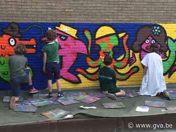 Schoolmuur Regina Pacis 2 vol graffiti: alternatief cadeau v... (Hove) - Gazet van Antwerpen