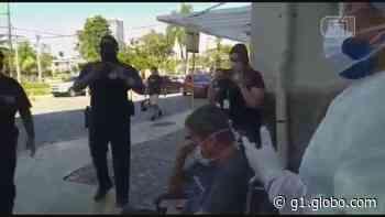 Guarda que atuou em barreiras sanitárias em SP se recupera da Covid-19 e recebe homenagem: 'Não é brincadeira' - G1