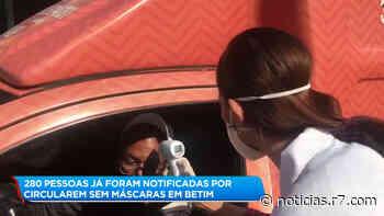 Betim vai testar população para auxiliar barreiras sanitárias - R7