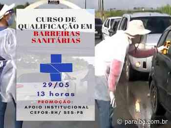 Governo do Estado promove curso de qualificação para aperfeiçoar atividades nas barreiras sanitárias - Portal PARAIBA.COM.BR - Paraiba.com.br