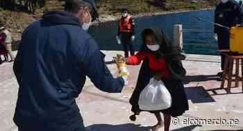 Puno: ayuda humanitaria llega a las islas flotantes Uros y Taquile - El Comercio Perú