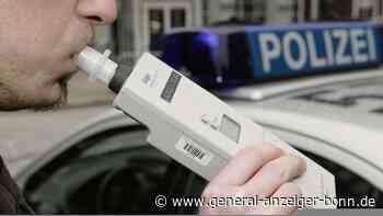 Polizeikontrolle in Swisttal: Autofahrer mit zwei Promille und auf nur zwei Reifen unterwegs - General-Anzeiger