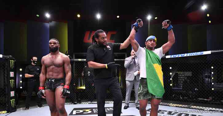 UFC on ESPN 9 in tweets: Pros react to Gilbert Burns' domination of ex-champ Tyron Woodley