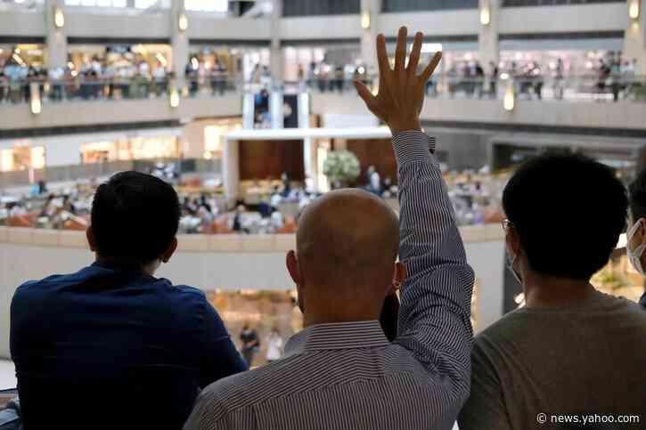 China media bristles at U.S. moves on Hong Kong over national security push