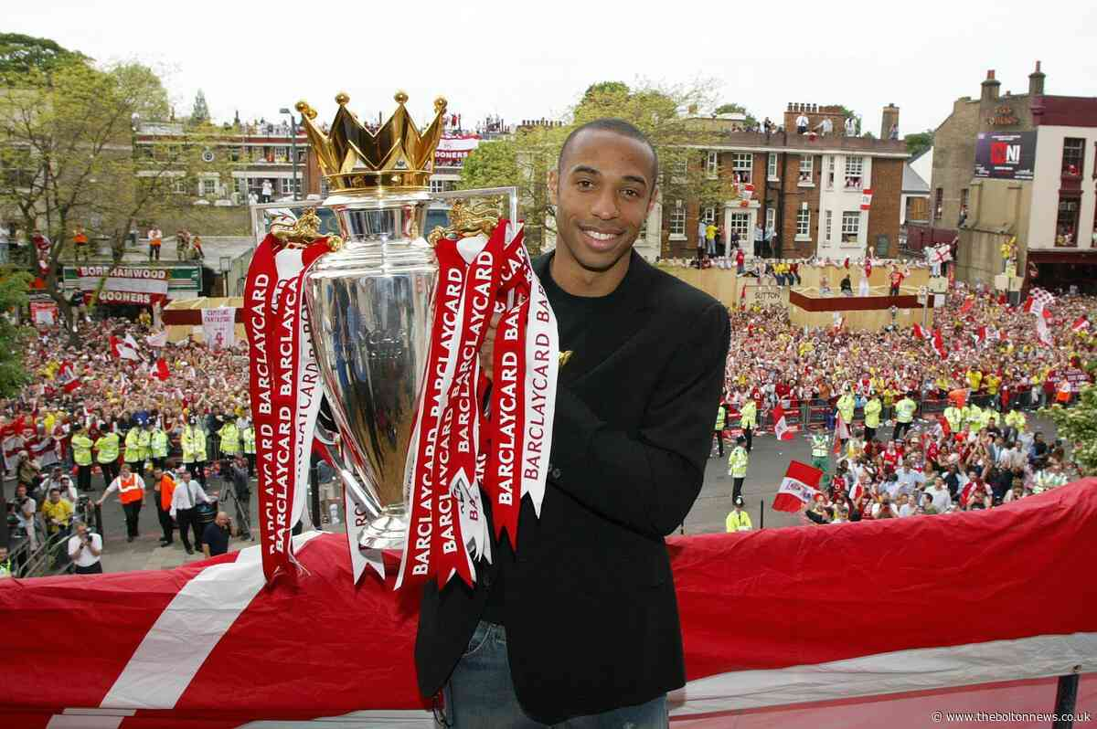 PFA Player of the Year (2003 and 2004) – Thierry Henry - The Bolton News