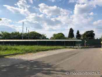 Usmate, percorso pedonale in Via per Vimercate - Monza in Diretta