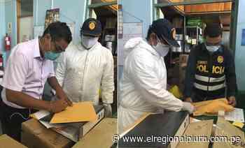 Chulucanas: Fiscalía realiza incautación de respirador para verificar presunto daño económico ocasionado en compra - El Regional