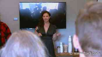 Actress Ashley Judd pitches Elizabeth Warren to Minnesota voters as candidates turn focus to Super Tuesday - FOX 9