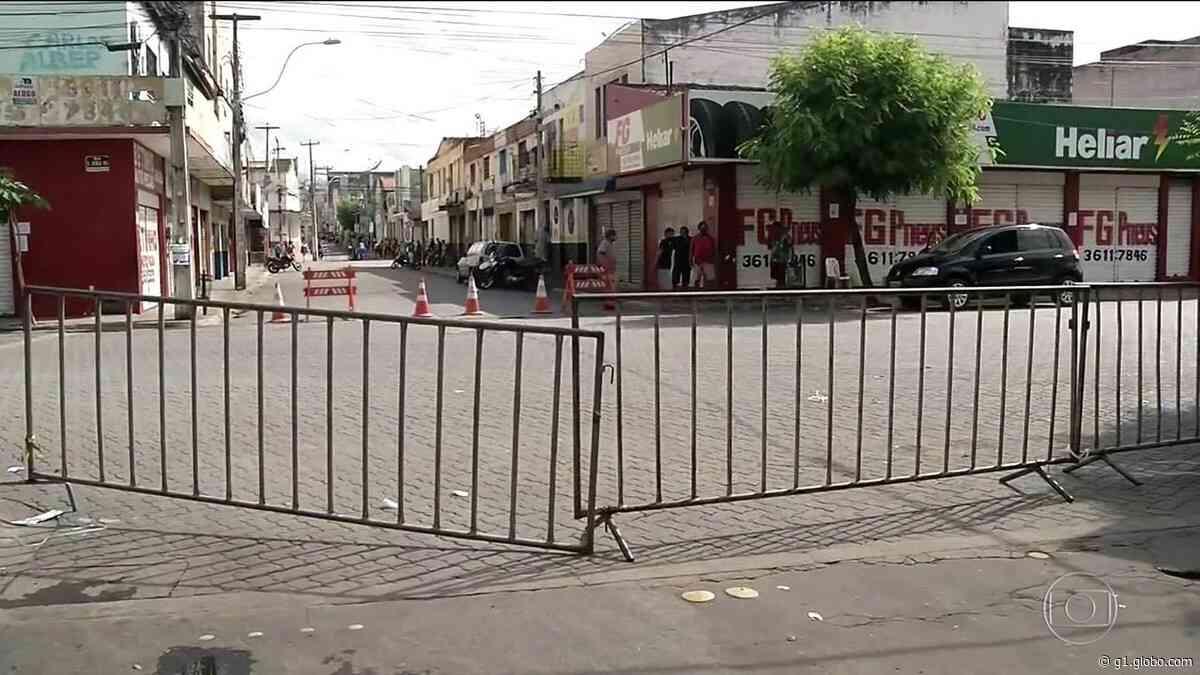 Fim do 'lockdown' em Fortaleza preocupa autoridades - G1