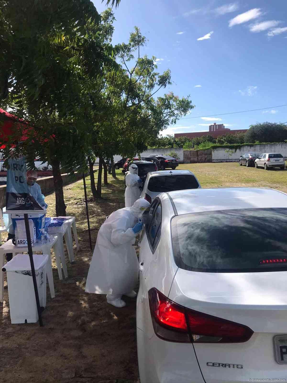 Fortaleza inicia testes de Covid-19 em elenco e comissão técnica - globoesporte.com
