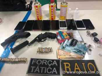 Lockdown em Fortaleza: PM encerra festa em motel com adolescentes, armas e drogas durante madrugada - O POVO