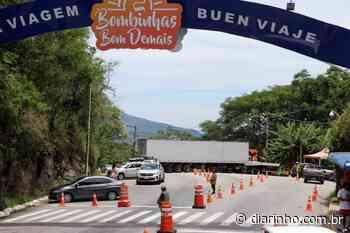 Bombinhas fecha os acessos da cidade por 10 dias - DIARINHO