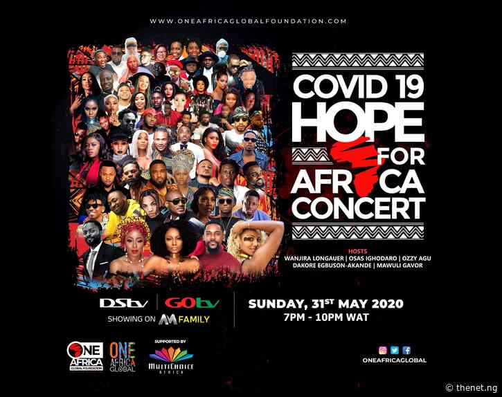Hope for Africa Concert: 2Baba, Davido, Falz, Flavour, Tiwa Savage, Others to Perform