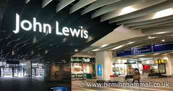 John Lewis shares re-opening date for stores after being given green light - Birmingham Live