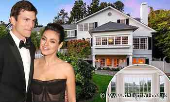 Ashton Kutcher and Mila Kunis put $14m mansion up for sale - Daily Mail