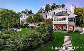 Peek Inside The Beverly Hills Home Of Ashton Kutcher & Mila Kunis - Guestofaguest.com