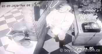 Ladrones madrugaron para robar en Ventaquemada - Extra Boyacá
