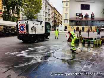 Zone e orari lavaggio portici dal 30 maggio al 4 giugno 2020 - Gazzetta della Spezia e Provincia