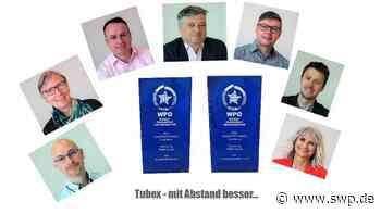 Tubex Rangendingen: Gleich zwei World Star Awards für die Firma Tubex - SWP